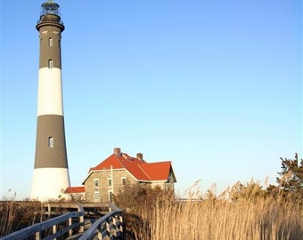 Fire Island Lighthouse - Color or B&W