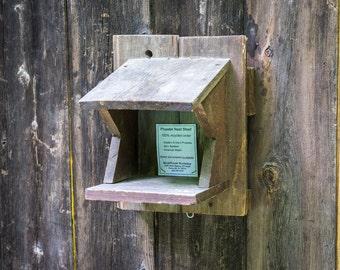 Nest Shelf for Robin, Phoebe, or Barn swallow