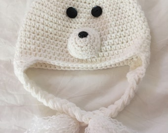 Little Polar Bear Hat