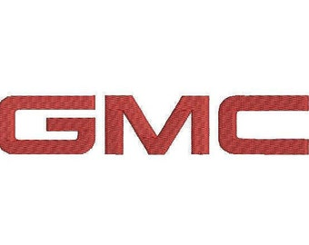6 sizes - GMC emblem Embroidery Design, GMC Embroidery Design, GMC car, Car emblem embroidery design, gmc logo embroidery, instant download