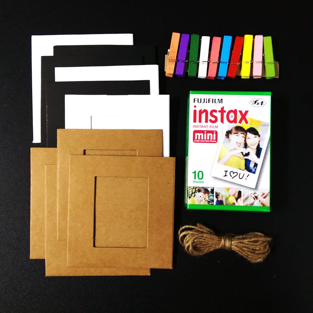 Photo Holders Paper Frame Wall Decor for Fujifilm Instax Mini