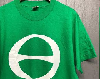 XL NOS vintage 90s Ecology t shirt