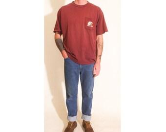Vintage 1990s Blue Denim Jean Wrangler Mens Pants size 34