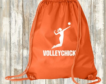 Volleyball Cinch Sport Bag - free customization