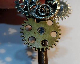 Steampunk Dragon Pendant