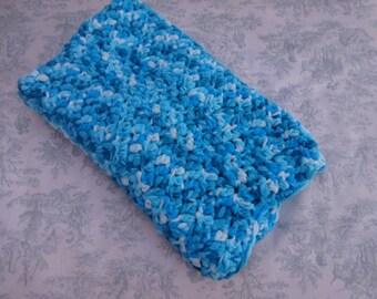 Fleece Waves Baby Blanket