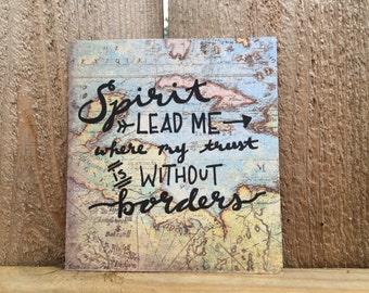 Spirit Lead Me// Map