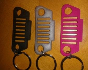 TJ Rubber JeepLyfe jeep keychain.