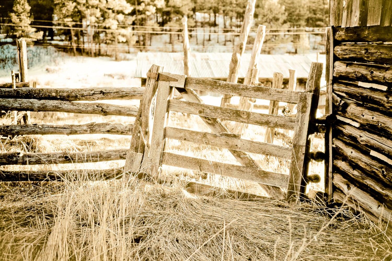 Rustic Art wood gate primitive gate wood fence split rail