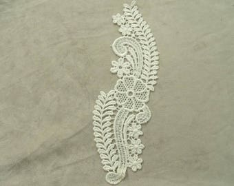 pretty white or black lace overlay