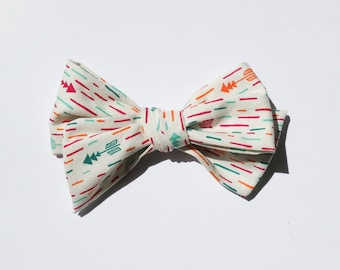 Stripped Hairbow | Handtied Bows | Baby headband | Nylon Headbands | Baby hair bows | Hair Bows | Hair Clips | Alligator Clips