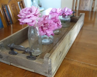 Rustic Wood Serving Tray,
