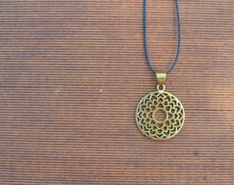 Sahasrara - Crown Chakra Necklace - Brass