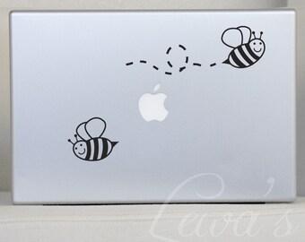 Bumble Bee Laptop Decal Set