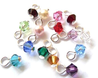 Swarovski Crystal Drops for CuteAndFun Charm Bracelets