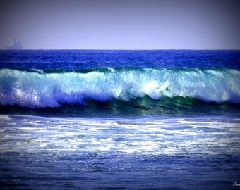 Wall Art Canvas Decor California Ocean Wave