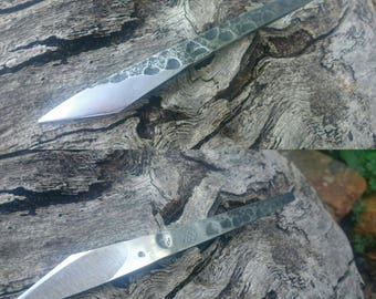 Hand forged kiridashi craft knife (made to order)