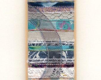 Textile art: Geology 2