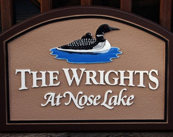 Lake House Sign,Custom outdoor sign,Welcome sign,Address sign, Personal sign, Custom outdoor sign for home,Hanging sign,Exterior sign