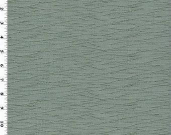 Designer Steel Gray Pleated Taffeta Decorating Fabric, Fabric By The Yard