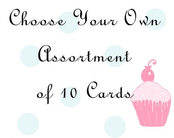 10 Cards of your Choice - Postcard Pack