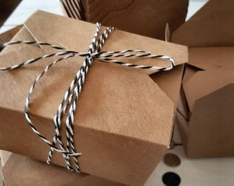 24 Cardboard Boxes Foodboxen Braun Advent calendar