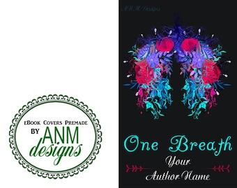 Premade eBook Cover Design 'One Breath' Non Fiction, Romance, Chick Lit Book Cover