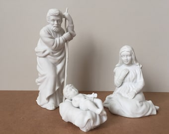 Avon Nativity Collectibles - Holy Family