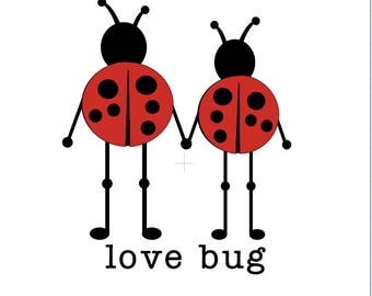 love bug. raglan/tee/onesie/dress
