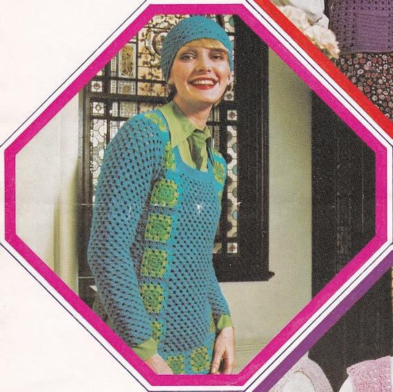 Crochet Hat Pattern Crochet Top Pattern For Women Digital Download