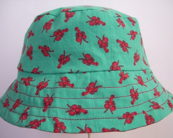 Children's Lobster-Print Bucket Hat
