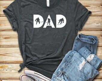 Hockey Dad / Unisex T-Shirt / Tank Top / Hoodie /  Hockey Shirt / Hockey Gift / Hockey T-Shirt / Mens Womens Hockey Shirts / Hockey Fan