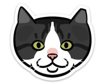 Apolla Feral Cat Sticker