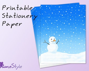 Asian printable stationery
