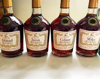 Hennessy Cognac Bottle Template