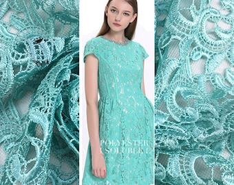 Elegant Chemical Lace Fabric By The Yard Flower Fabric Floral Printed Fabric Dress Fabric Clothing Fabric Skirt Fabric Shirt Fabric- MY106