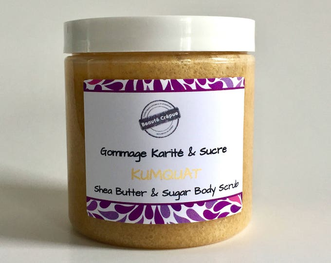 Body Scrub with Shea Butter and Sugar - Scented with Watermelon fragrance - 250g