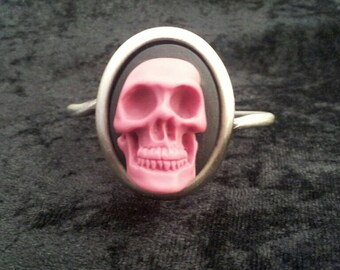 Skeleton Cameo Bracelet