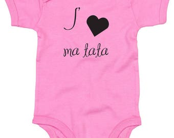 "Custom Bodysuit ""I love my Auntie"""
