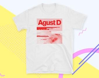 Agust D Shirt Suga BTS Bangtan Boys Kpop T-Shirt