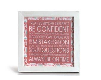 Good Advice - Office Print and Frame