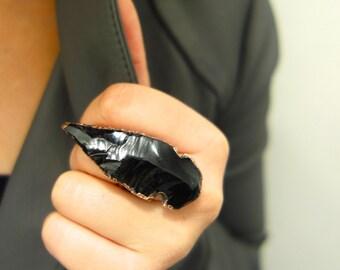 Copper Arrowhead Ring