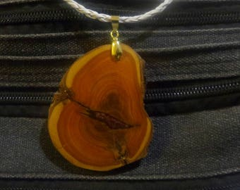 Conkerberry and resin pendent