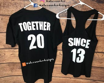 Custom Couples Matching Shirts\Tanks