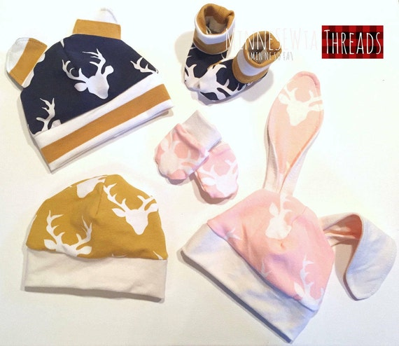 Baby-Basics PDF-Schnittmuster Hut Handschuhe BOOTIES
