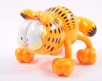 PAWS Battery Powered Garfield Massager Plastic - Great ~The Pink Room~ 161025