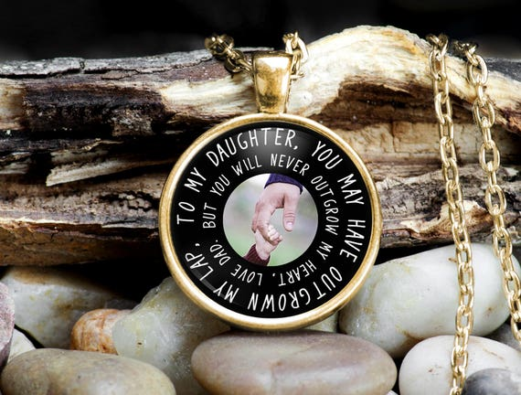 Daughter necklace from father father daughter jewelry father like this item mozeypictures Choice Image