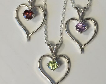 Sweetheart necklace 925 sterling silver