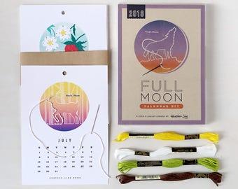 2018 Full Moon Calendar Kit