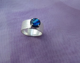 Sterling Silver Ring Size 'Q' (8)   (24)
